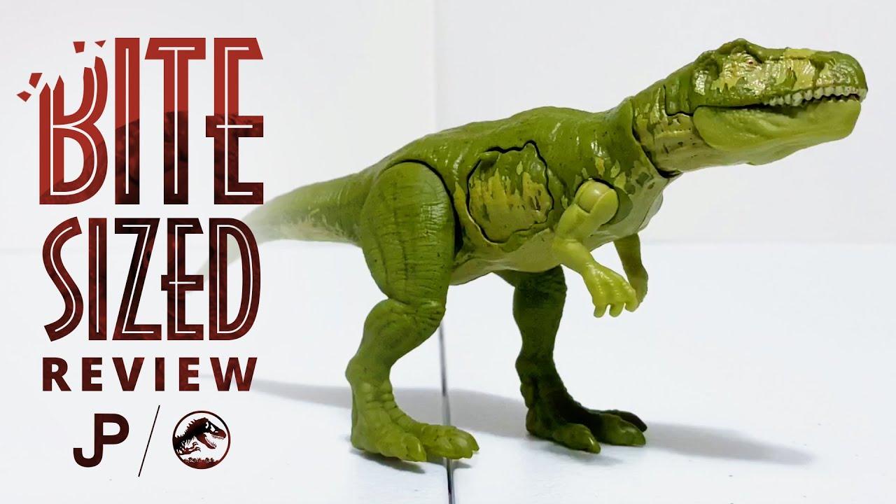 Mattel Battle Damage Gasosaurus - Jurassic World Toy Review / collectjurassic.com