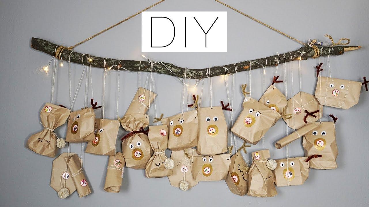 Weihnachtskalender Für Kinder Basteln.Adventskalender Für Kinder Basteln Und Befüllen Eileena Ley