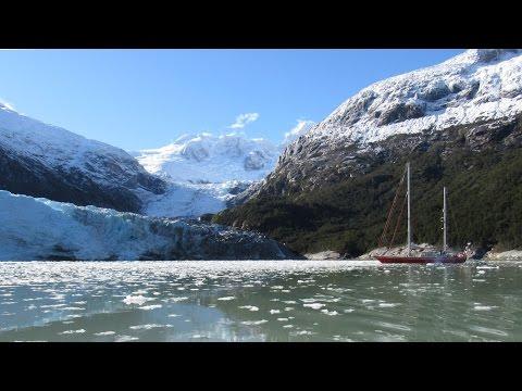 """Lodowce i zwierzęta Patagonii s/y""""Selma Expedition"""". Glaciers, Chile."""