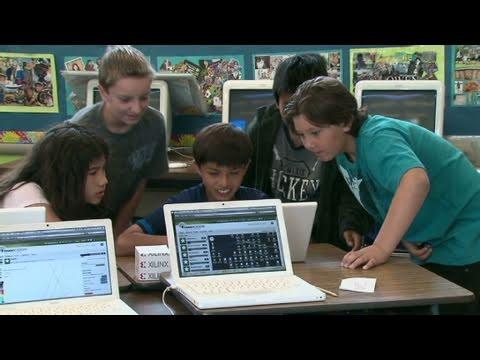 CNN: Online school opens up learning