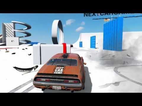 Обзор на игру Next Car Game DEMO нереальные Разрушения!