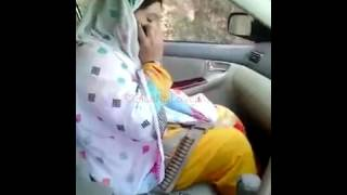 PathaN Girl iN the Car