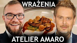 ATELIER AMARO - RECENZJA! Wojciech Modest Amaro: restauracja i jego słynne momenty |GASTRO VLOG #255