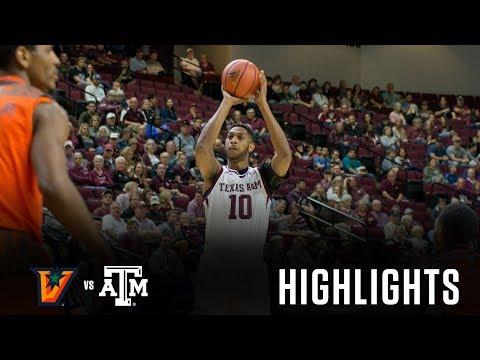 Men's Basketball: Highlights   A&M 78, UTRGV 60