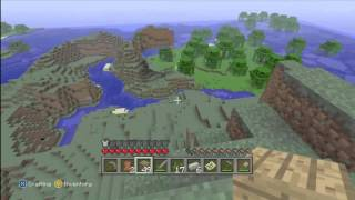 Minecraft xbox 360 : search for new land