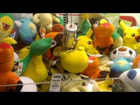 Pokemon GO! Trying To Catch EM ALL at the Claw Machines!!