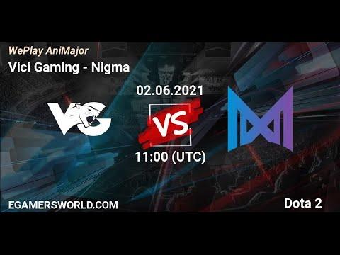 NIGMA vs VG - WILD CARD - WEPLAY ANIMAJOR - DOTA 2 HIGHLIGHTS - WITH MUSIC BACKROUND