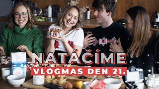 VLOGMAS DEN 21. | Natáčíme vánoční video!