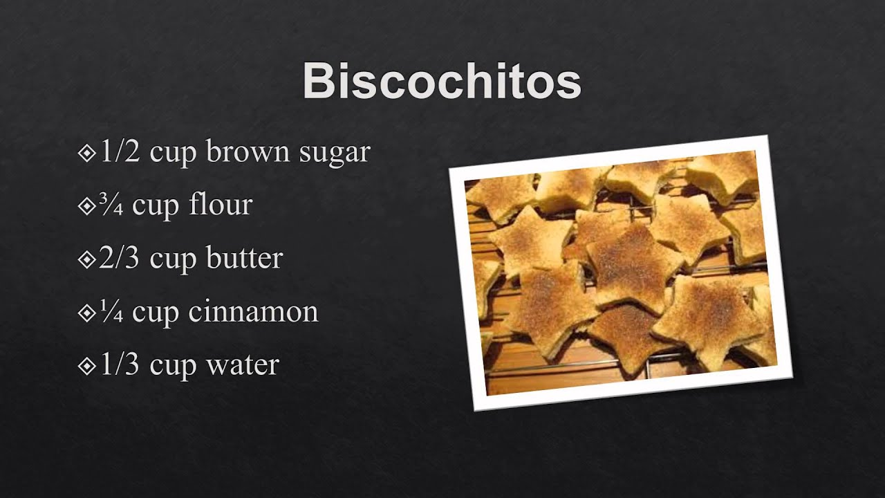 Equivalent Fractions A Biscochitos Cookie Recipe
