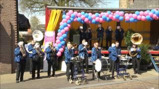 Hengelsdweil Festival Blaaskapel Pardoes Zwolle Podium 1 Langeler 19 april 2015 Hengelo gld NL HD