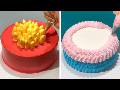7+ Creative Cake Decorating Ideas Compilation | So Yummy Chocolate Cake Recipes | Cake Art Design