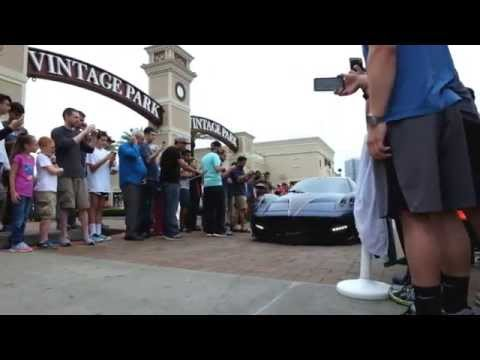 Houston Coffee and Cars - Sights & Sounds - April 18 2015 - [HD]