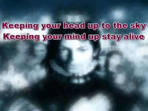 Keep Your Head Up  Michael Jackson Karaoke