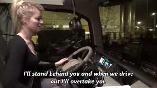 Trucking Girl - Mój pierwszy raz - GABARYTY, My first time - OVERSIZE LOADINGS