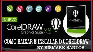 Como Instalar e Ativar o CorelDraw X8 Para Sempre  Resolvendo Erro da Ativação Atualizado 2017