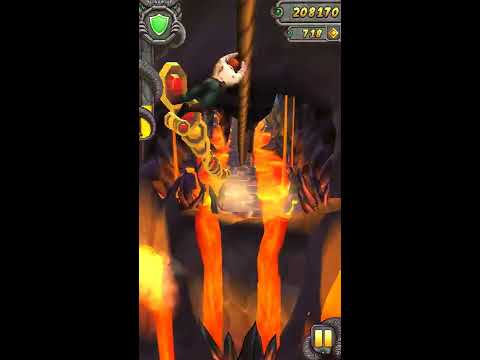 Temple Run 2:Volcano Island|3d Gameplay|Lost In Jungle|Tech Mr Hack Gaming