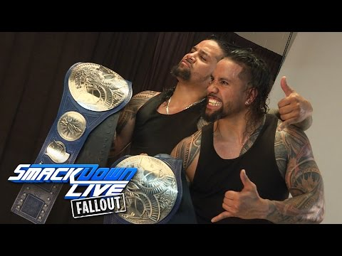 The Usos get photographed as new SmackDown...