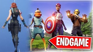 NEW Avengers Endgame Thanos VS Fortnite Gameplay + NEW ITEM SHOP SKINS! | UPDATE DAY