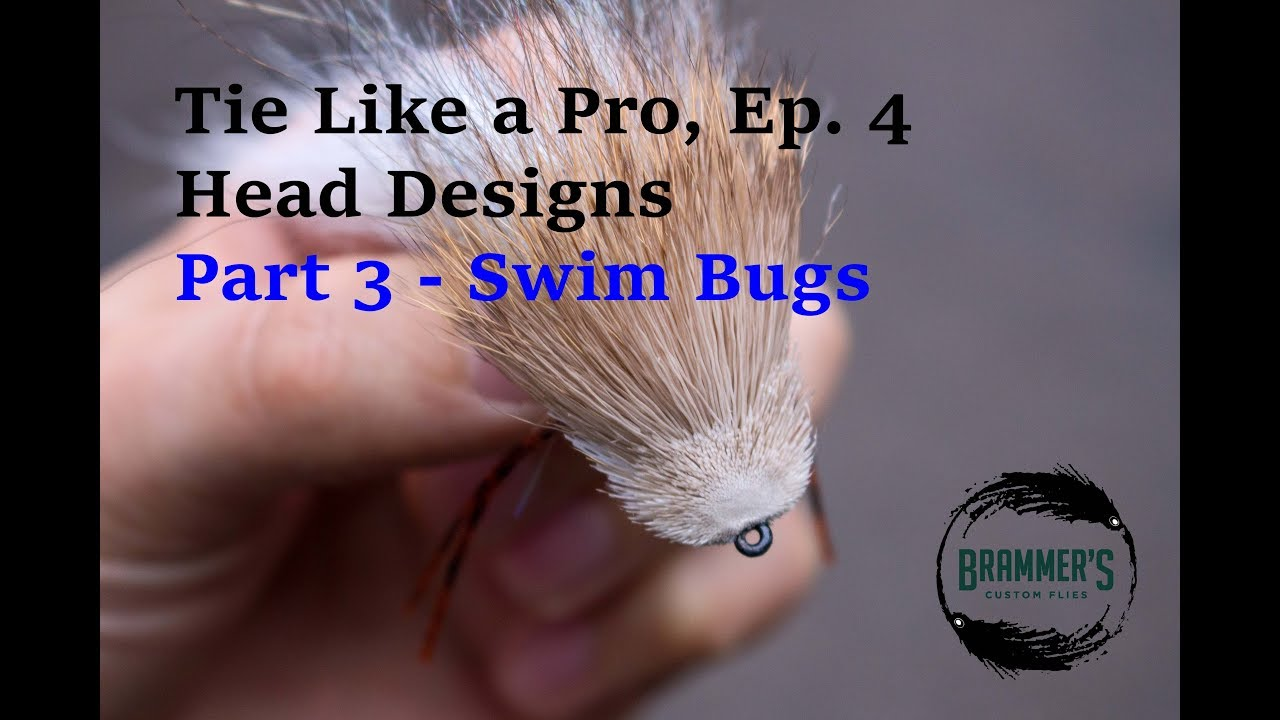 Tie like a pro ep 4 head designs part 3 swim bugs youtube tie like a pro ep 4 head designs part 3 swim bugs ccuart Images