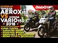 All New Honda Vario 150 VS Yamaha Aerox 155 l Komparasi Review l Gridoto