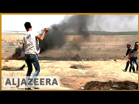 🇵🇸 Gaza protests: Palestinian killed on the border   Al Jazeera English