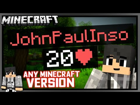 CUSTOM HEALTH BARS IN MINECRAFT 1.14 | VANILLA MINECRAFT thumbnail