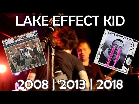 Fall Out Boy - Lake Effect Kid || Through the Years [2008/2013/2018]