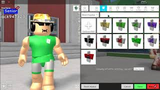 Robloxian High School How to outfit badcc