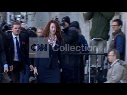 UK: PHONE HACKING ARRIVALS - COULSON AND BROOKS