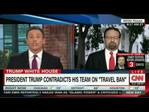 Huge Clash Sebastian Gorka vs CNN Chris Cuomo  Gorka questions Cuomo pushed back Who Won?