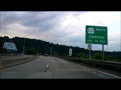 PA Route 51 North: Allegheny County to Jefferson Hills