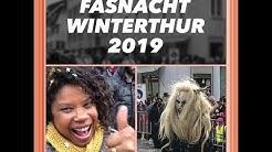 "TURISTANDO SEM SAIR DE CASA FASNACHT WINTERTHUR 2019""CARNAVAL DE WINTERTHUR 2019"""
