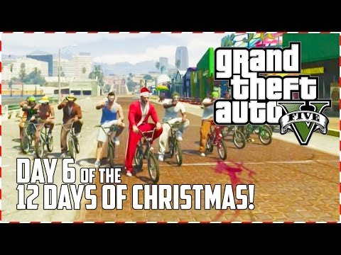 GTA 5 Online - BMX Party! (Day 6 of 12) (GTA V)