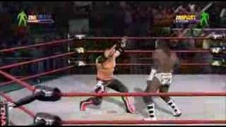 TNA Impact Gameplay AJ Styles V.S Booker T part 1