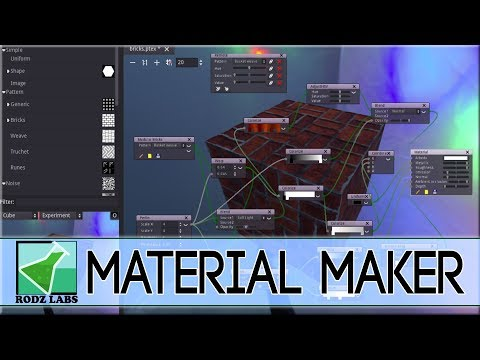 Material Maker -- Godot Powered Procedural Texture Creator (Free & Open Source!)