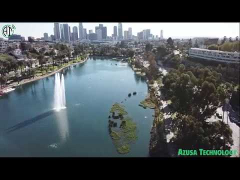 View from above! Echo Park, Los Angeles, California ~1.23.2018