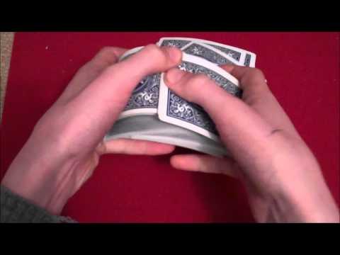 How To Shuffle Like A Professional Magician - Bridge Shuffle