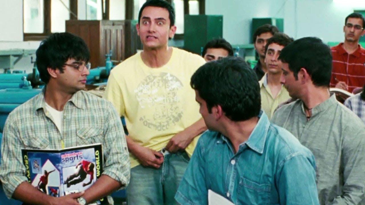 """""""मशीन क्या है?"""" ( What is a machine? ) - 3 इडियट्स Comedy - Aamir Khan"""