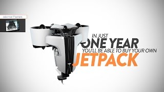 Jetpacks Are Coming In 2016 (Martin Jetpacks)