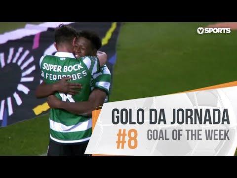 Golo da Jornada (Liga 18/19 #8): Bruno Fernandes (Sporting)