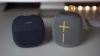 Bose Soundlink Micro vs Ue Wonderboom - Sound comparison...