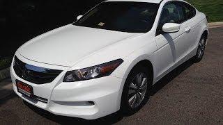 Honda Accord Coupe 2011 Videos