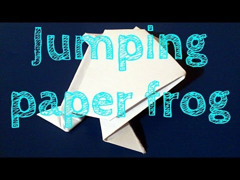 Jumping Frog Origami Instructions