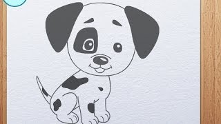 How to draw Puppy