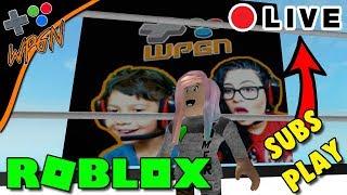 🔥 ROBLOX 🔥 LIVE NOW 💙 SUBS PLAY 💙 JAILBREAK AND MORE  (2-8-18)