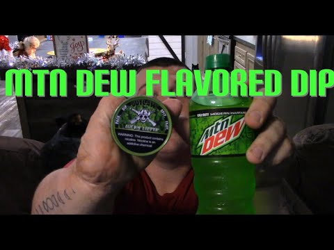 MTN Dew flavored