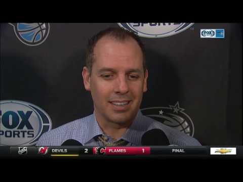 Frank Vogel - Orlando Magic vs. Portland Trail Blazers postgame 1/13/17