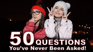 50 Questions You've Never Been Asked - Merrell Twins