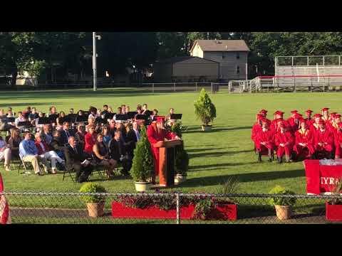 7c62e510ba Plano Senior High School Graduation - Karen Chen - Valedictorian. Palmyra High  School 2018 Valedictorian Speech