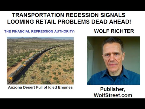 TRANSPORTATION RECESSION SIGNALS RETAIL PROBLEMS AHEAD - 05-06-16 - FRA w/Wolf Richter